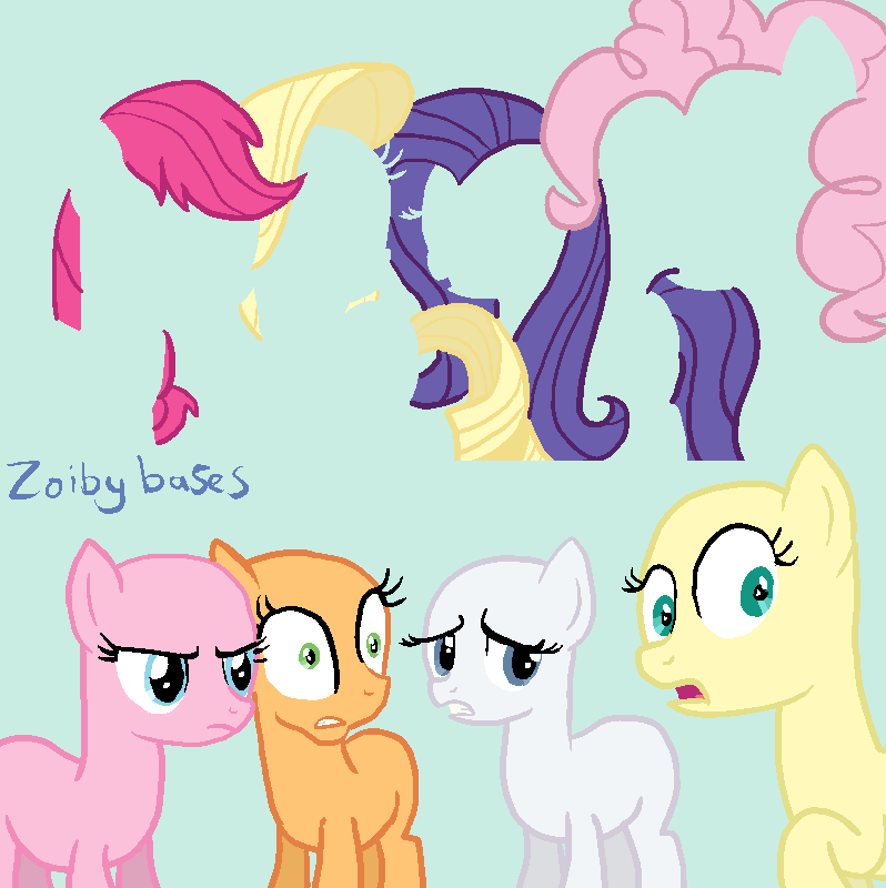 MLP Base 4: GASP D: By ZoibyBases On DeviantArt