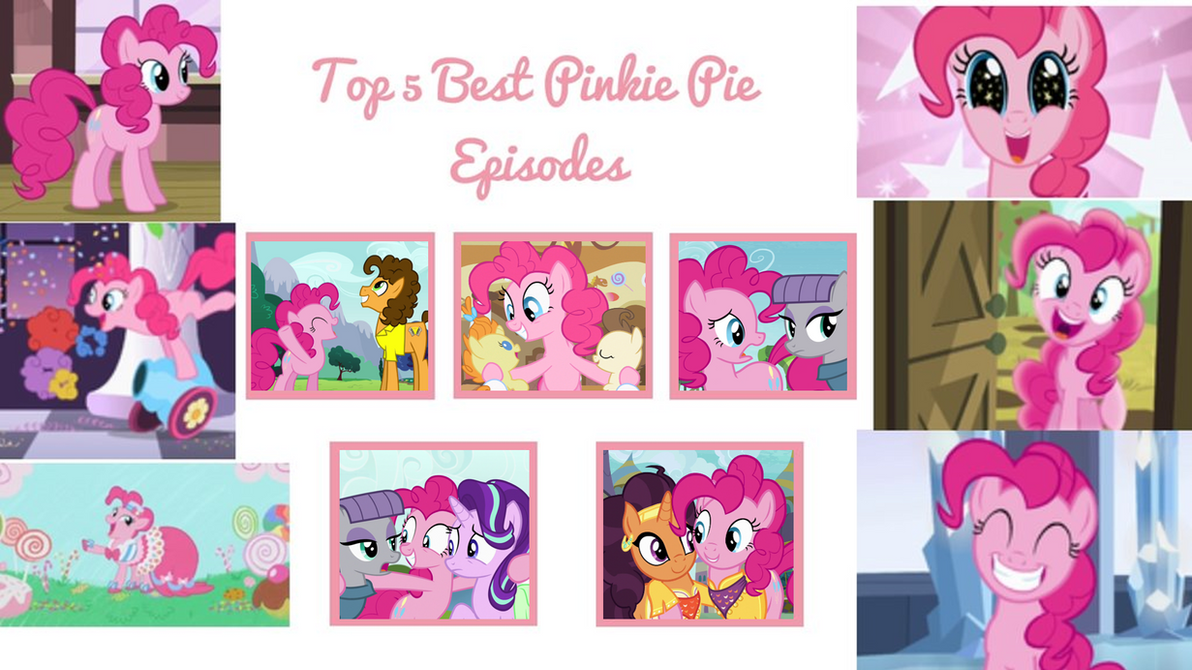 My Top 5 Favorite Pinkie Pie Episodes