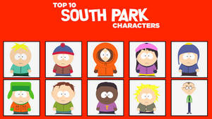 My Top 10 Favorite South Park Characters