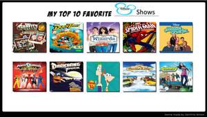 Rain's Favorite Disney Shows