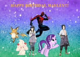 Happy Birthday, Hayley
