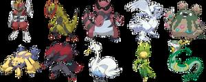 My Top 10 Favorite Unova Pokemon