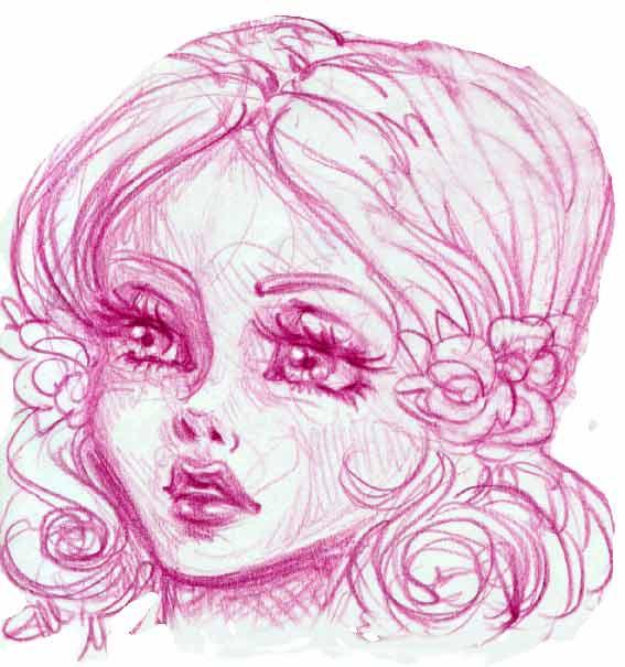 Pea_5 mins sketch