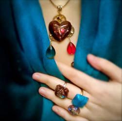 Heart Pendant+Rings_for Lucia.