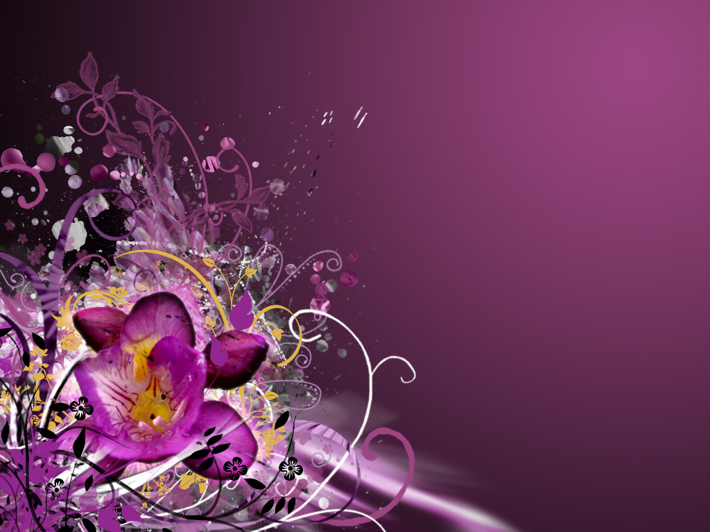 Flowery VII by PinkyPinkee