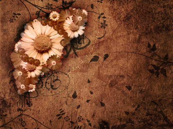 Dark Flowers by PinkyPinkee