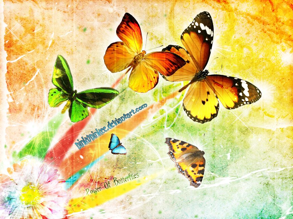 Power Of Butterflies by PinkyPinkee
