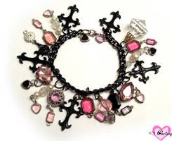 Overkill Charm Bracelet by lessthan3chrissy