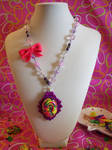 Neon Sweets Cameo Necklace by lessthan3chrissy