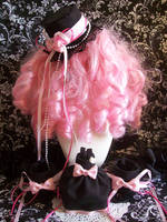 Goth Loli Recycled Accessories by lessthan3chrissy