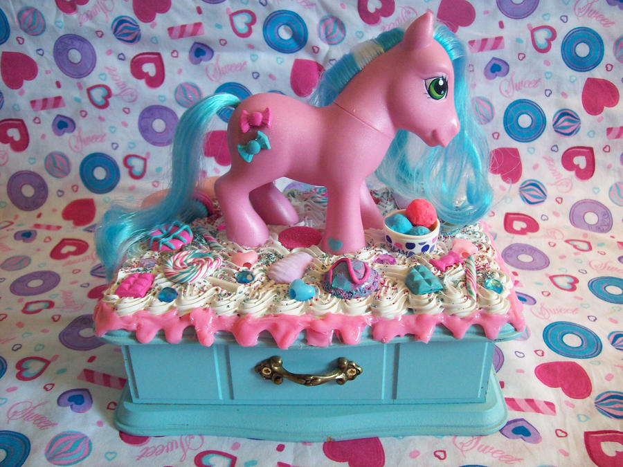 My Little Pony Jewelry Box Adorable My Little Pony Jewelry Box By Lessthan60chrissy On DeviantArt
