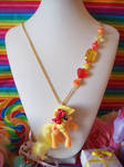 Apple Jack Necklace by lessthan3chrissy