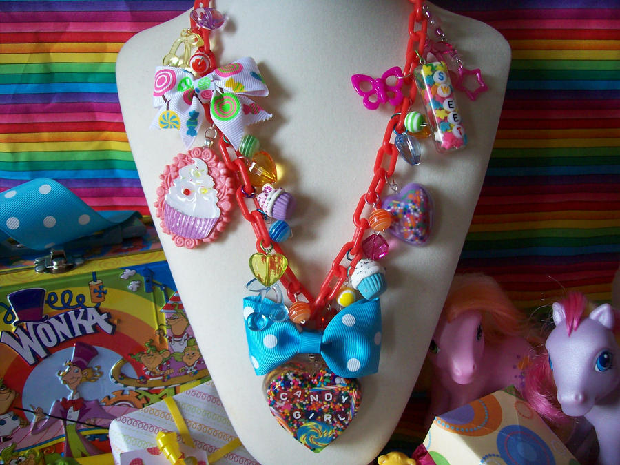 Candy Girl Overkill Necklace by lessthan3chrissy