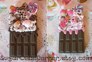 Chocolate Decoden iPhone 4 Cases
