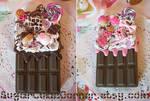 Chocolate Decoden iPhone 4 Cases