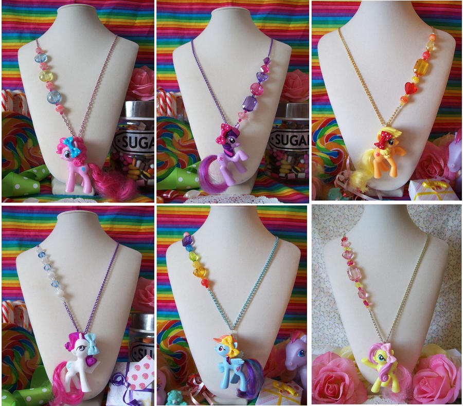 My little pony friendship is magic necklaces by lessthan3chrissy on my little pony friendship is magic necklaces by lessthan3chrissy aloadofball Gallery