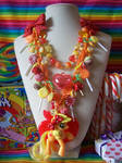 Candy Applejack GGG Necklace by lessthan3chrissy