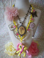 Fluttershy's Garden GGG Necklace by lessthan3chrissy