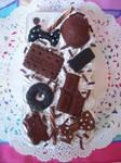 Chocolate Iphone 4 Decoden Case