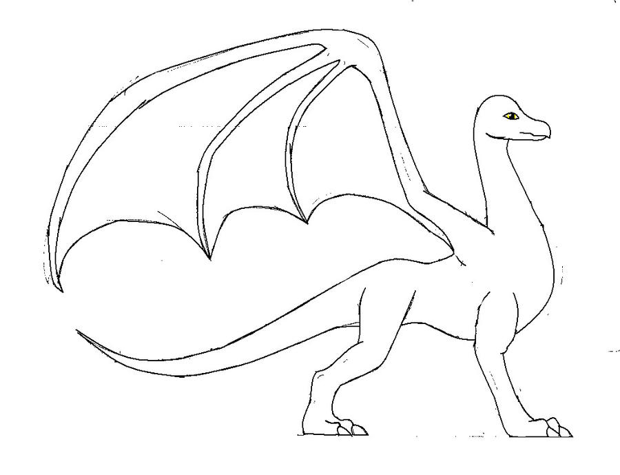 Adult Female Dragon Template by save-animals7 on DeviantArt
