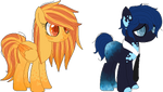 Soda Flavor Pony Adopts (AUCTION/CLOSED)