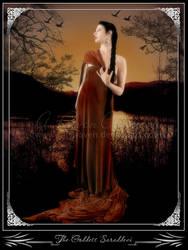 The Goddess Saraddevi by MistRaven