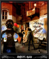 Graffiti Alley by MistRaven