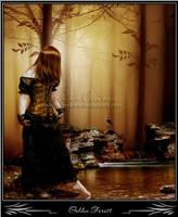 Golden Forest by MistRaven