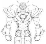 Fan Art - Guttler X robot