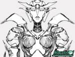 Fan art - sketch Afrodite 2.0