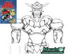 Fan Art - sketch Big Robot