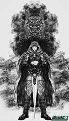 Fan Art -  Lone Wolf by Joe Dever
