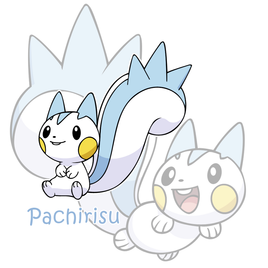 Pokemon Pachirisu Evolution