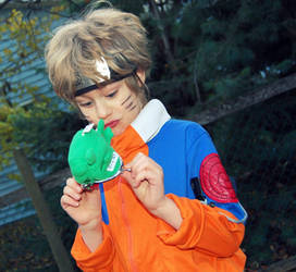 Little Naruto Cosplay by SAXONIZME