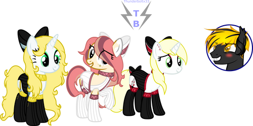3/3 Commission: Why they SO cutie!? by ThunderboltX33