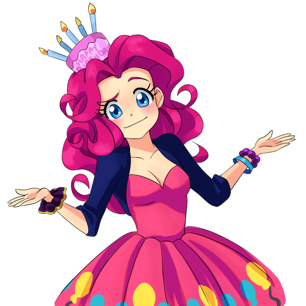 Pinkie Shrug by semehammer
