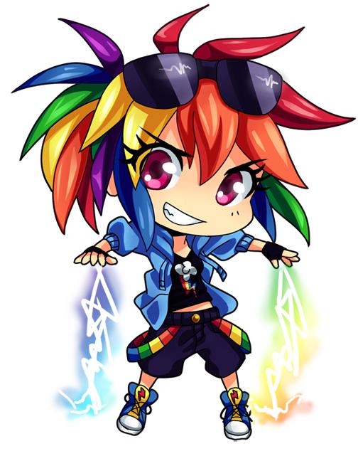 Rainbow Dash Chibi by semehammer