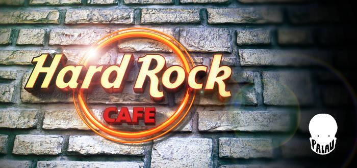 LOGO HARD ROCK CAFE 3D