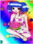 Watermelon by Danielle-chan