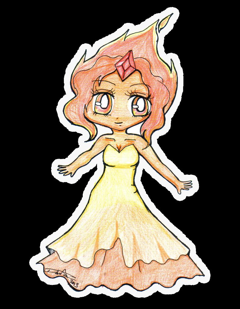 Flame Princess -chibi- by Danielle-chan on DeviantArt