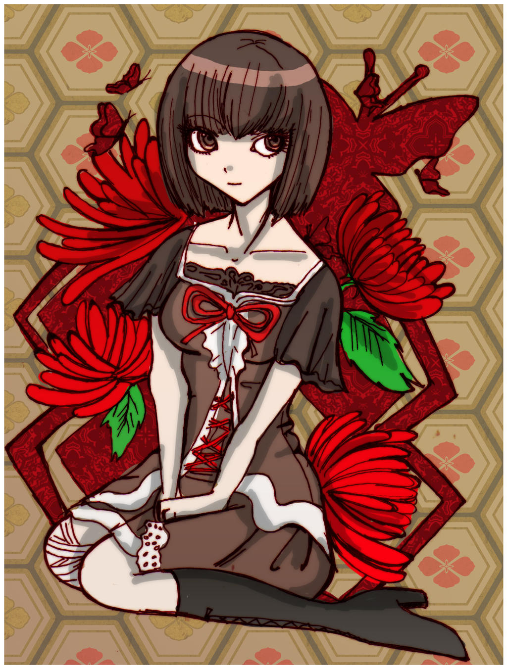 -Deep Crimson Butterfly- by Danielle-chan