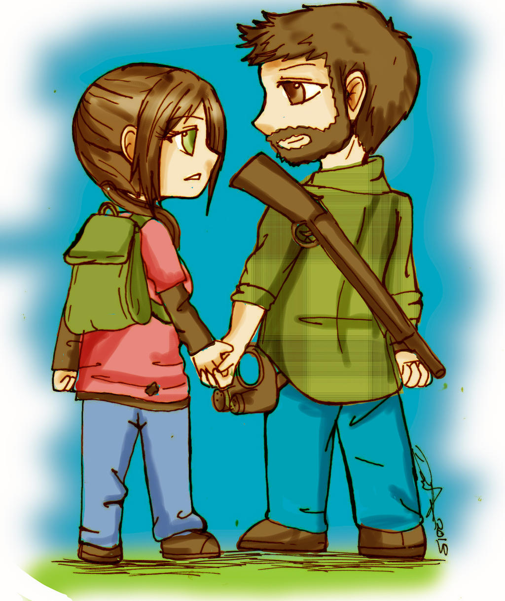 -Joel and Ellie-