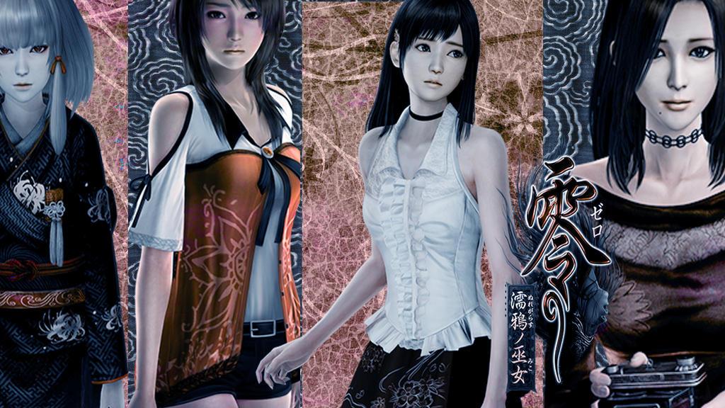 Fatal frame wallpaper by Danielle-chan