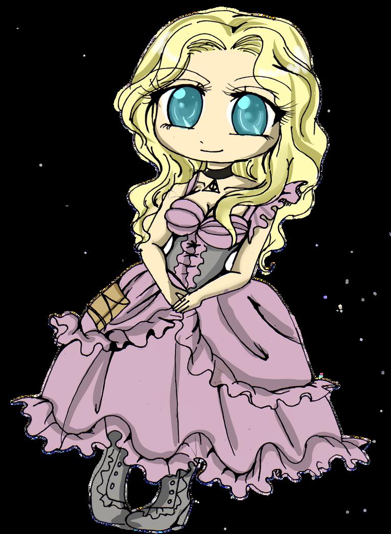 Viola chibi by Danielle-chan