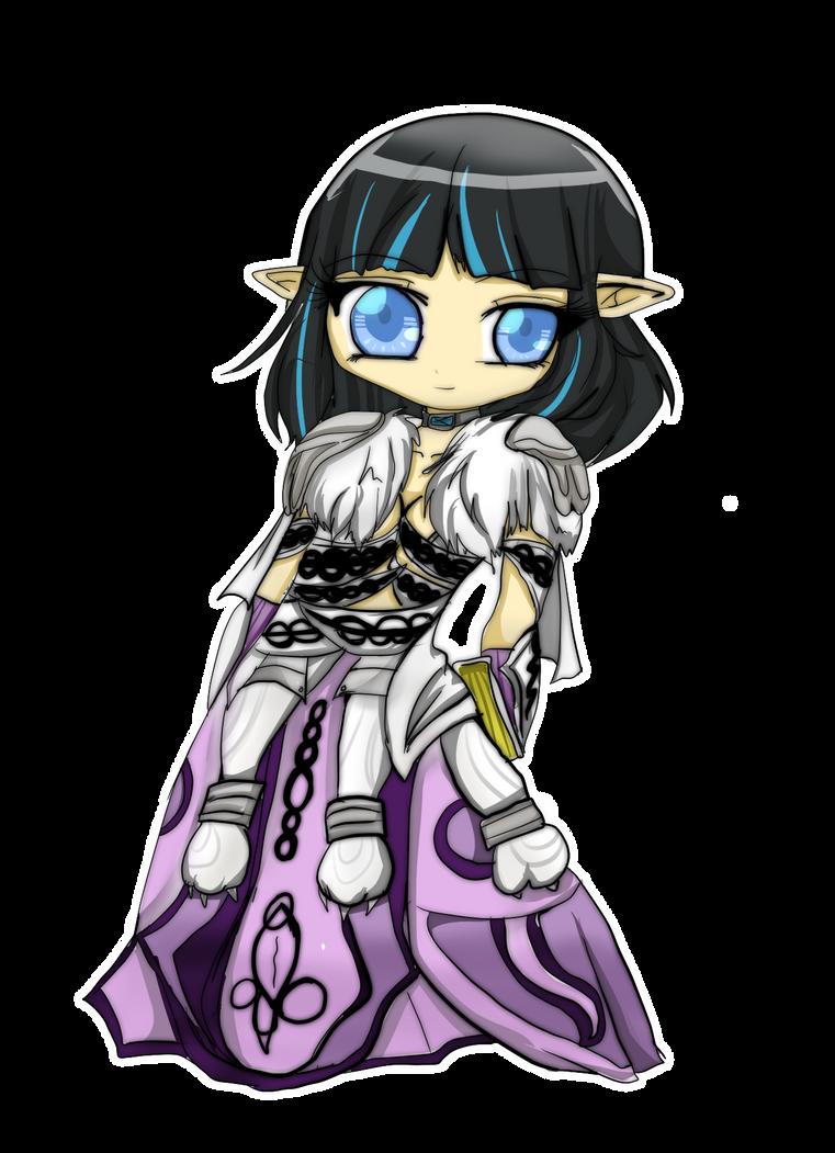 Scylla's robe of healing by Danielle-chan