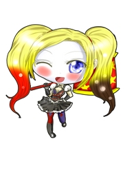 Com: Chibi Harley by Danielle-chan