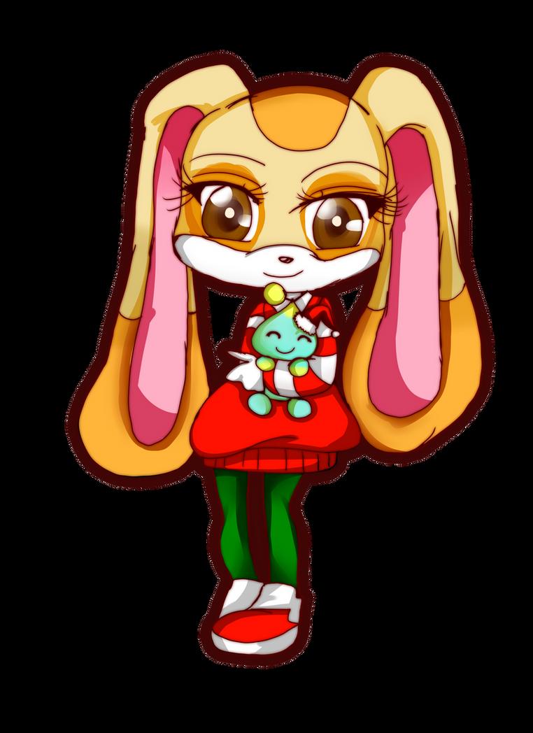 Com: Cream the Rabbit by Danielle-chan