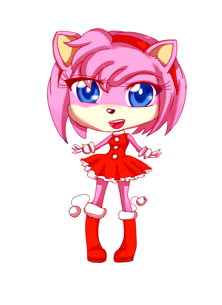 Com: Amy Rose by Danielle-chan