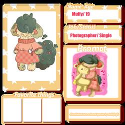 Cloudiimimi Village Registration Card  Muffy