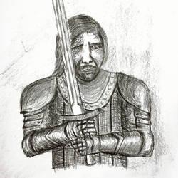 Sandor 'Hound' Clegane by pkubicek